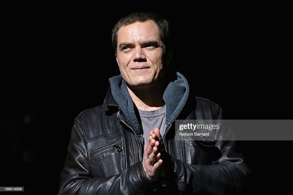 <a gi-track='captionPersonalityLinkClicked' href=/galleries/search?phrase=Michael+Shannon&family=editorial&specificpeople=660513 ng-click='$event.stopPropagation()'>Michael Shannon</a> on stage at LAByrinth Theater Company Celebrity Charades 2013 Benefit Gala at Capitale on January 14, 2013 in New York City.