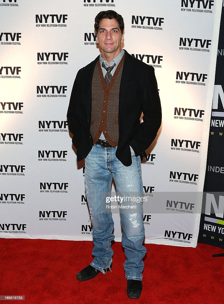 Michael Sharon attends 'In Between Men' Series Screening - 9th Annual New York Television Festival at Tribeca Cinemas on October 21, 2013 in New York City.
