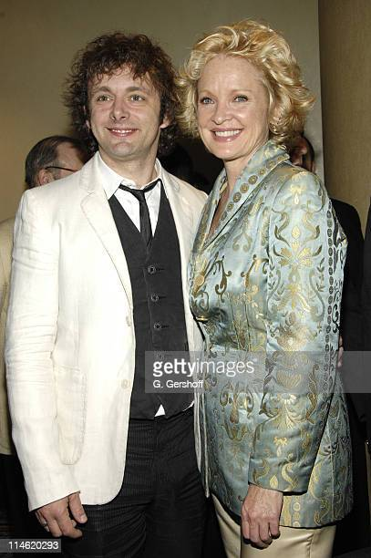 Michael Sheen and Christine Ebersole during 73rd Annual Drama League Awards Ceremony and Luncheon at Marriott Marquis Hotel in New York City New York...