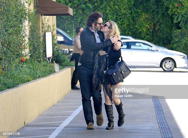 Michael Sheen and Rachel McAdams are seen on February 04 2012 in Los Angeles California