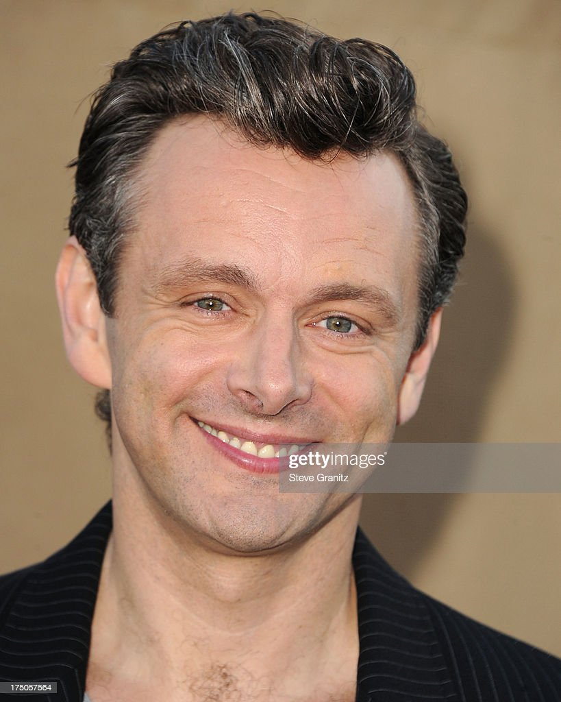 Michael Sheen arrives at the Television Critic Association's Summer Press Tour - CBS/CW/Showtime Party at 9900 Wilshire Blvd on July 29, 2013 in Beverly Hills, California.