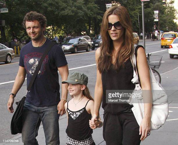 Michael Sheen Lilly Beckinsale and Kate Beckinsale