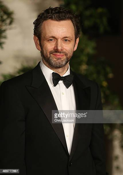 Michael Sheenan arrives for an official dinner party after the EE British Academy Film Awards at The Grosvenor House Hotel on February 16 2014 in...