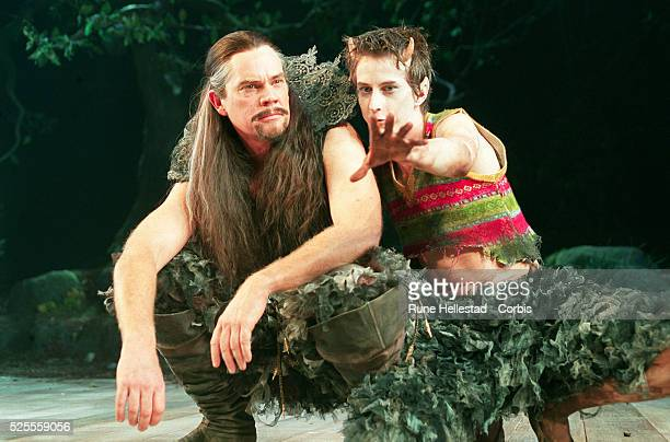 Michael Siberry as Oberon and Lee Ingleby as Puck