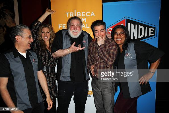 Michael Sladek Abby Dylan Richard Masur Kevin Corrigan and Darrien Michele Gipson attend the SAG Indie Cast Party during the 2015 Tribeca Film...