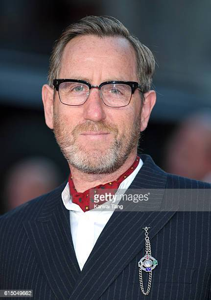 Michael Smiley attends the 'Free Fire' Closing Night Gala during the 60th BFI London Film Festival at Odeon Leicester Square on October 16 2016 in...