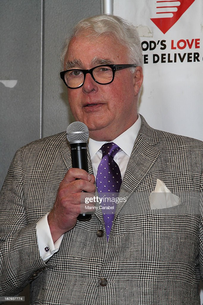 Michael Sonnett attends the launch of the God's Love We Deliver Expansion Project on October 2, 2013 in New York City.
