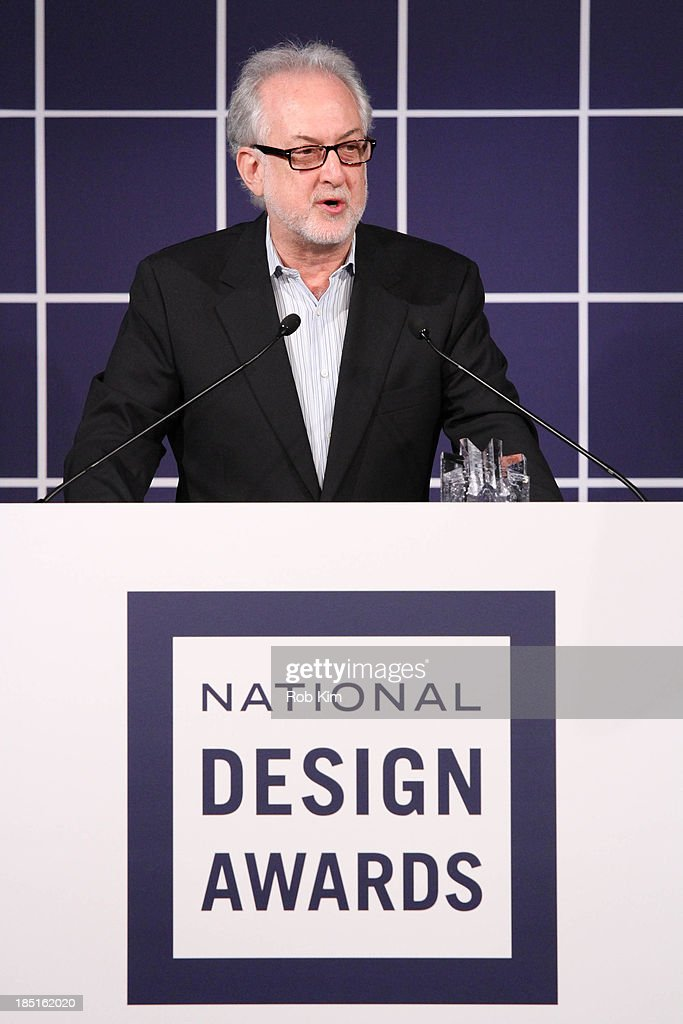Michael Sorkin attends the 2013 Cooper-Hewitt National Design Awards at Pier 60 on October 17, 2013 in New York City.