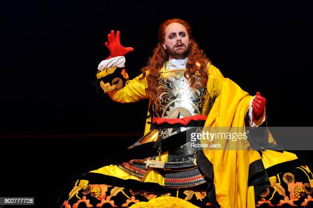 Michael Spyres as Mitridate in the Royal Opera's Production Of Wolfgang Amadeus Mozart's Mitridate re di Ponto directed by Graham Vick and conducted...