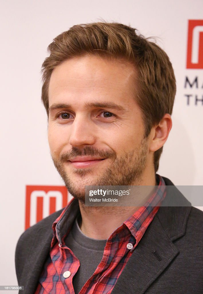 Michael Stahl-David attending the Meet & Greet for the MTC Production of 'The Commons of Pensacola' at the Manhattan Theatre Club Rehearsal Studios on September 25, 2013 in New York City.