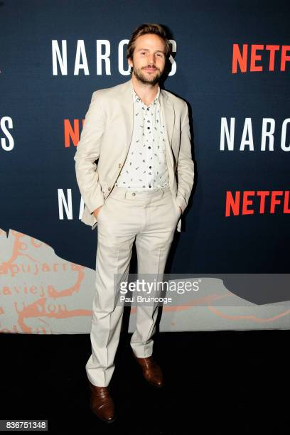 Michael StahlDavid attends 'Narcos' Season 3 New York Screening Arrivals at AMC Lincoln Square 13 Theater on August 21 2017 in New York City