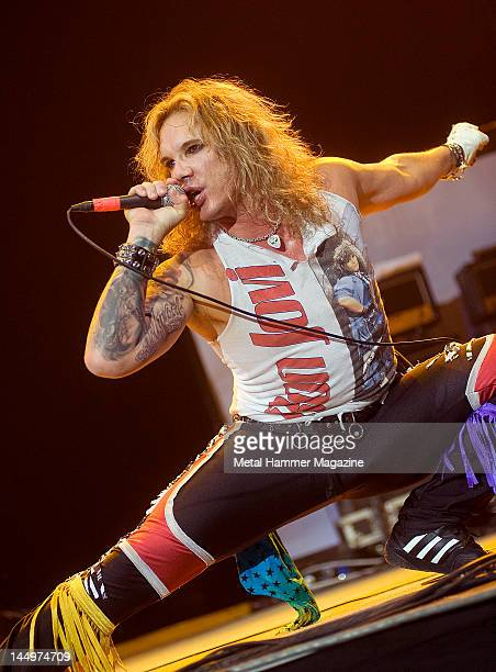 Michael Starr of Steel Panther performs live on stage at Ozzfest on September 18 2010