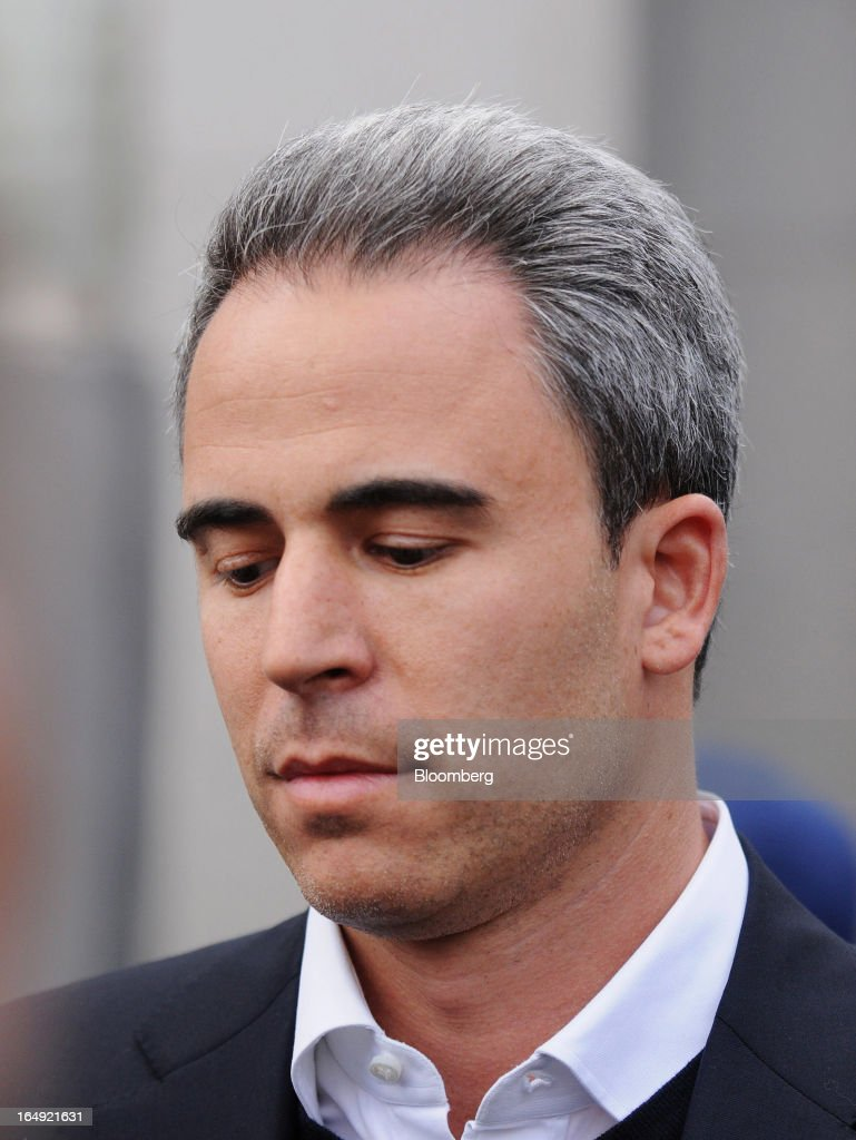 Michael Steinberg, SAC Capital Advisors LP fund manager, who worked at SAC's Sigma Capital Management unit, exits federal court in New York, U.S., on Friday, March 29, 2013. Steinberg was indicted by a federal grand jury on five counts of conspiracy and securities fraud as the U.S. government's wide ranging probe of insider trading at the $15 billion firm got one step closer to founder Steven A. Cohen. Photographer: Jonathan Fickies/Bloomberg via Getty Images