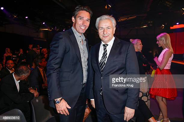Michael Stich and Klaus Wowereit attend the Tribute To Bambi 2014 on September 25 2014 in Berlin Germany
