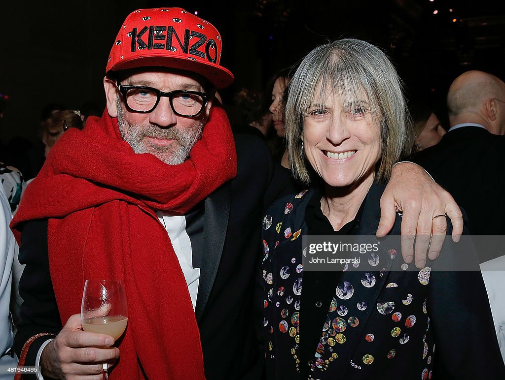 <a gi-track='captionPersonalityLinkClicked' href=/galleries/search?phrase=Michael+Stipe&family=editorial&specificpeople=178318 ng-click='$event.stopPropagation()'>Michael Stipe</a> and Linda Yablonsky attend The New Museum Annual Spring Gala at Cipriani Wall Street on April 1, 2014 in New York City.