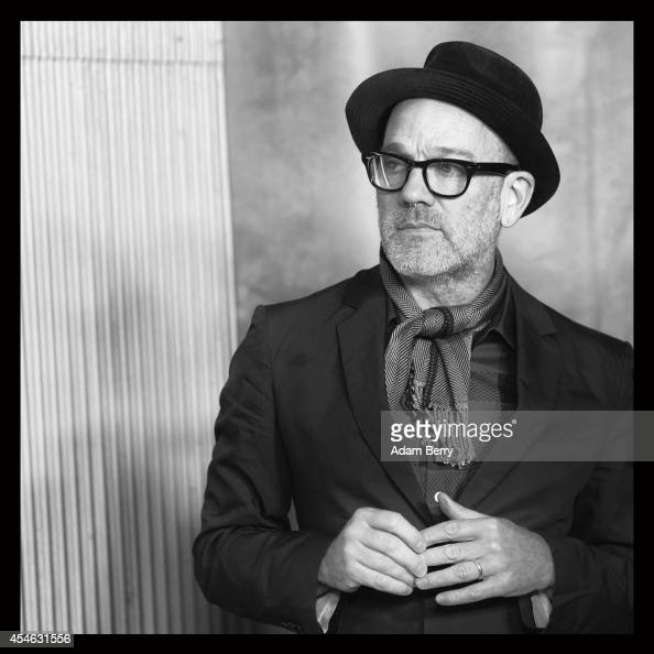 Michael Stipe arrives for the Berlin premiere of the film 'A Most Wanted Man' at Astor Film Lounge on September 4 2014 in Berlin Germany