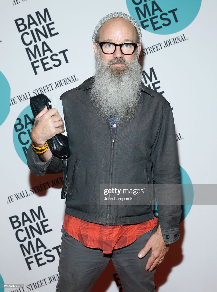 Michael Stipe attends 'En El Septimo Dia' centerpiece screening during BAMcinemaFest 2017 at BAM Harvey Theater on June 18, 2017 in New York City.