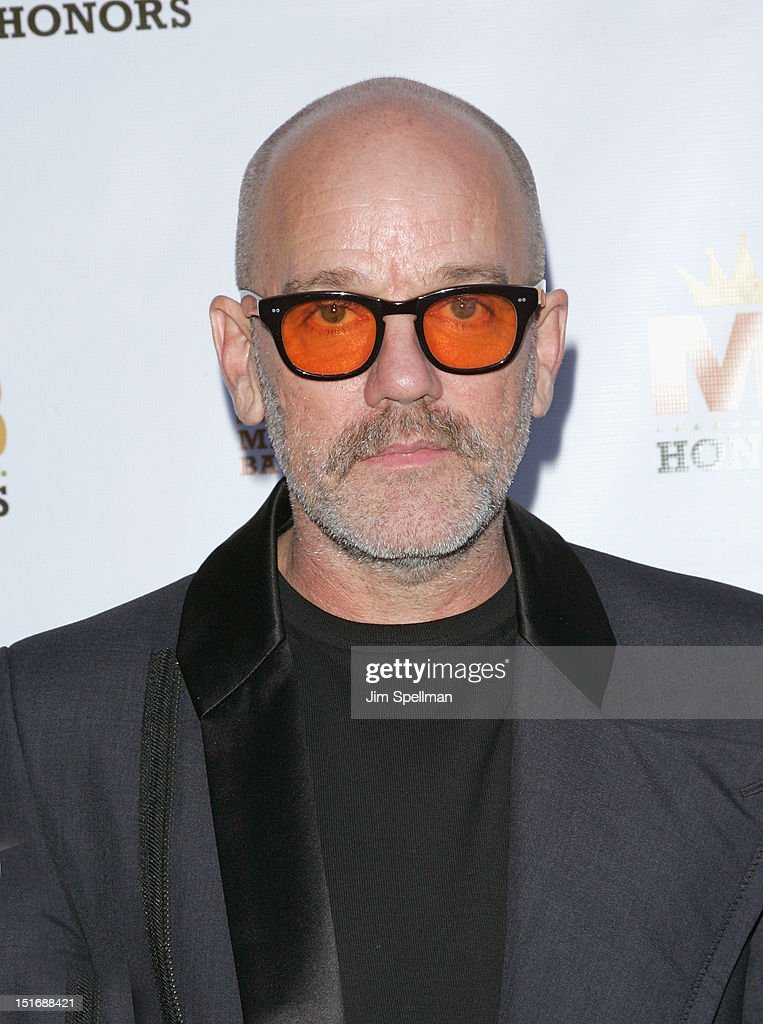 <a gi-track='captionPersonalityLinkClicked' href=/galleries/search?phrase=Michael+Stipe&family=editorial&specificpeople=178318 ng-click='$event.stopPropagation()'>Michael Stipe</a> attends the 2012 Mario Batali Foundation Honors Dinner at Del Posto Ristorante on September 9, 2012 in New York City.