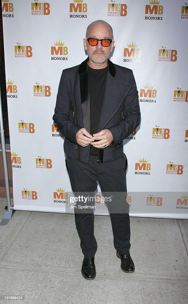 Michael Stipe attends the 2012 Mario Batali Foundation Honors Dinner at Del Posto Ristorante on September 9, 2012 in New York City.