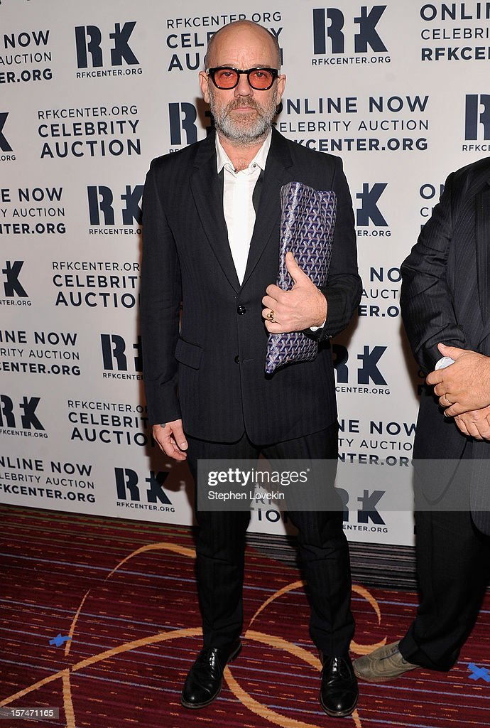 Michael Stipe attends the 2012 Ripple Of Hope Gala at The New York Marriott Marquis on December 3, 2012 in New York City.