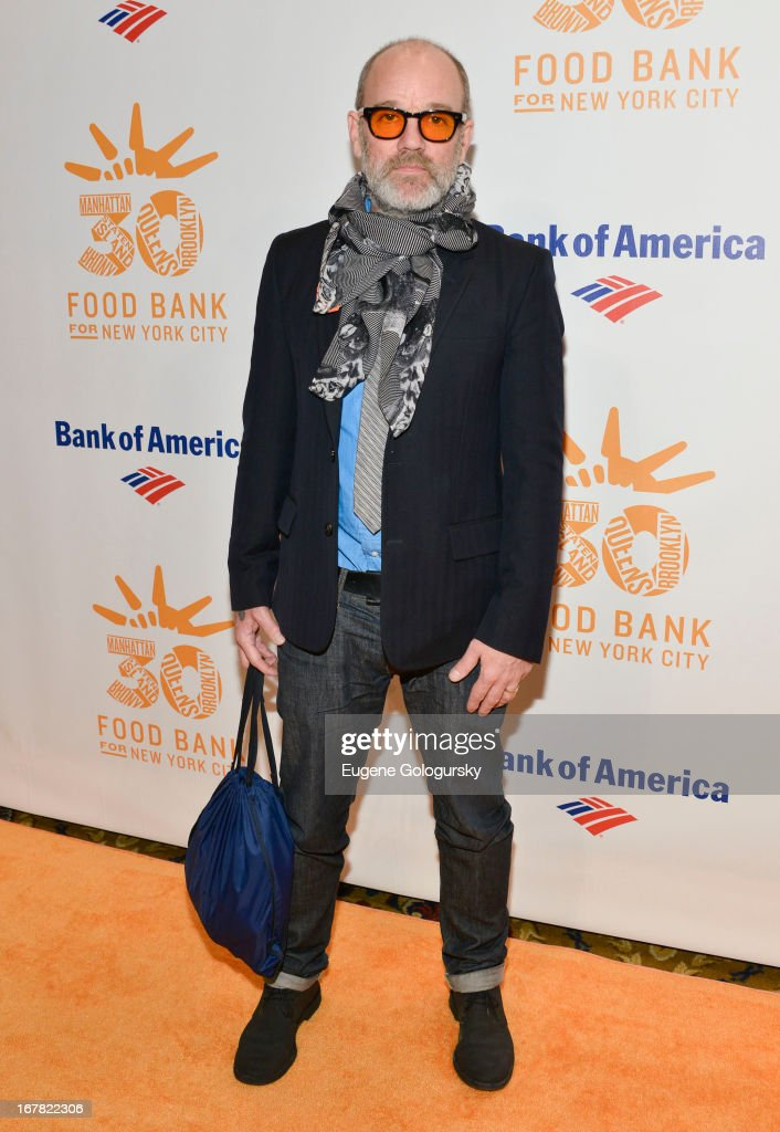 Michael Stipe attends the 2013 Food Bank For New York City Can Do Awards at Cipriani Wall Street on April 30, 2013 in New York City.