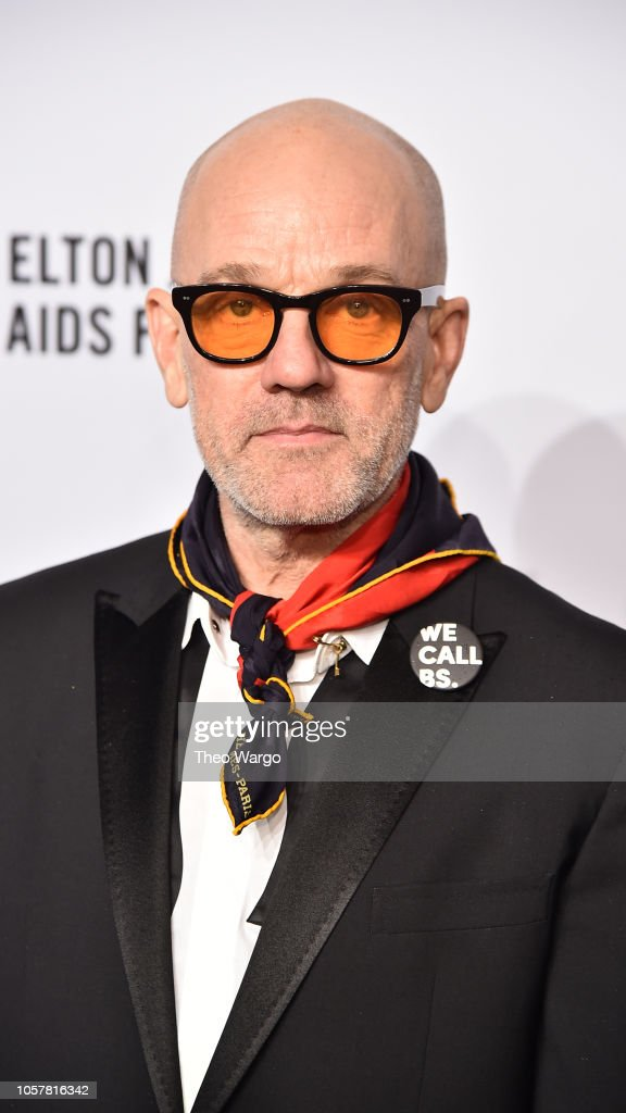 NEW YORK, NY - NOVEMBER 05:  Michael Stipe attends the Elton John AIDS Foundation's...