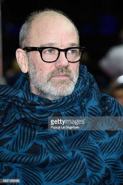 Michael Stipe attends the 'Fifty Shades of Grey' International Premiere during the 65th Berlinale International Film Festival at Zoo Palast on...