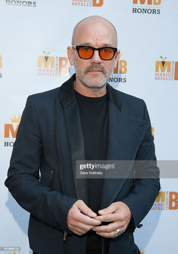 Michael Stipe attends The Mario Batali Foundation Inaugural Honors Dinner at Del Posto Ristorante on September 9, 2012 in New York City.