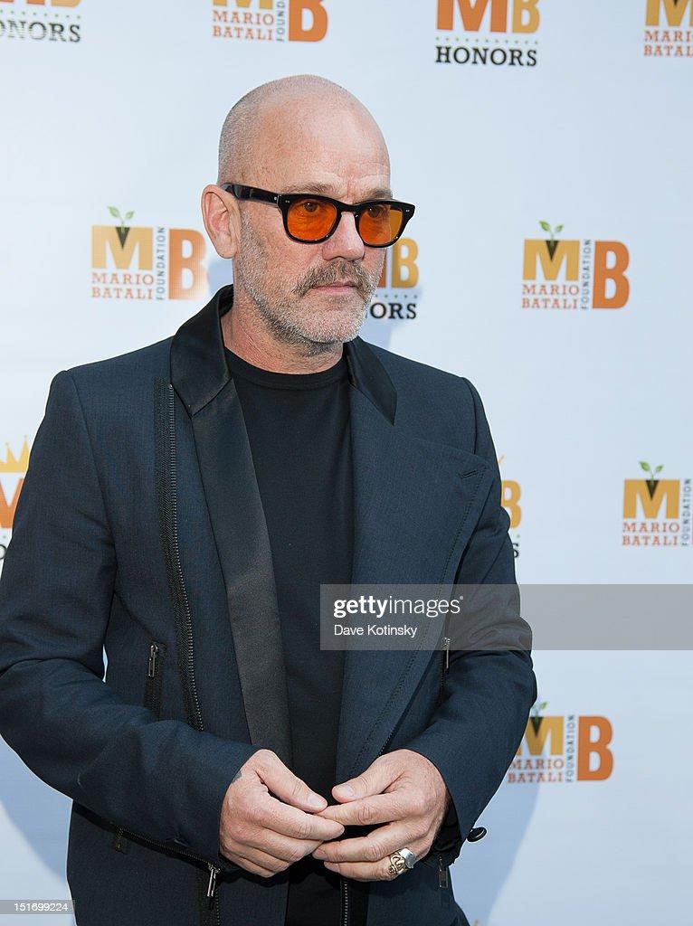 Michael Stipe attends The Mario Batali Foundation Inaugural Honors Dinner at Del Posto Ristorante on September 9, 2012 in New York City.
