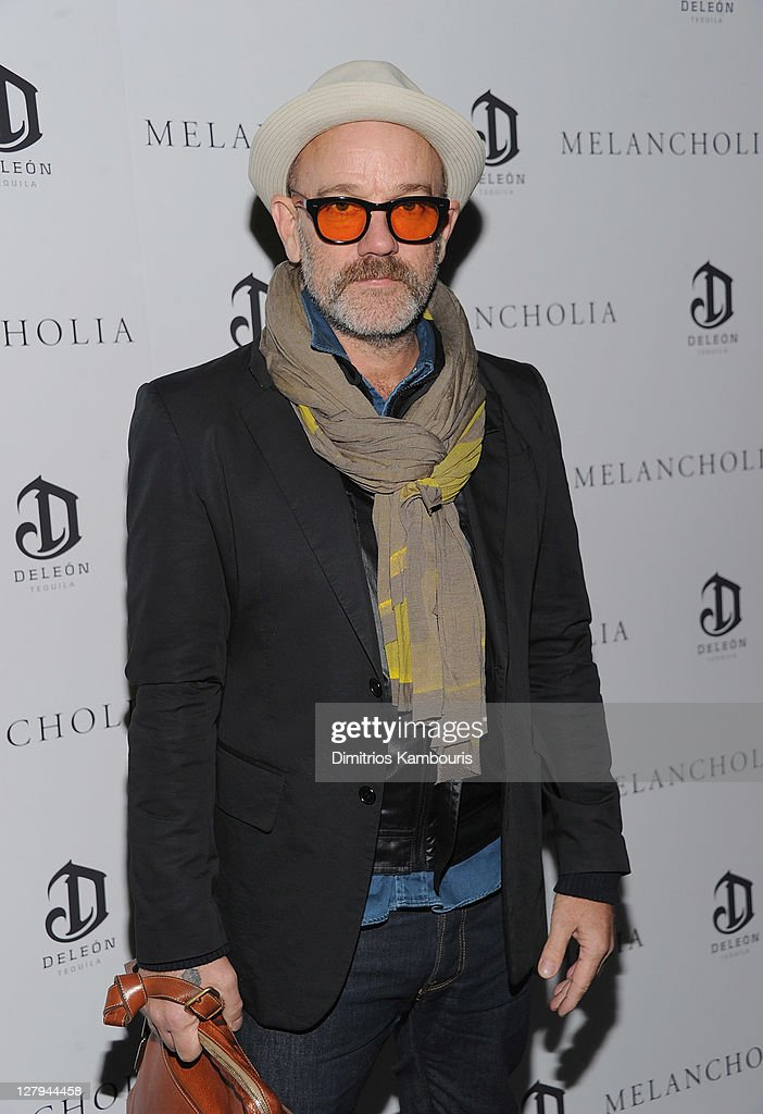 Michael Stipe attends the 'Melancholia' premiere after party during the 49th annual New York Film Festival at the Stone Rose Lounge on October 3 2011...