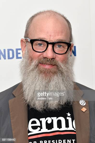 Michael Stipe attends the New York premiere of EPIX's 'Under the Gun' on May 12 2016 in New York New York