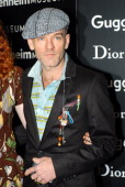 Michael Stipe during Dior Sponsors the Solomon R Guggenheim Museum's Young Collectors Council Artist's Ball Honoring Matthew Ritchie at Guggenheim...