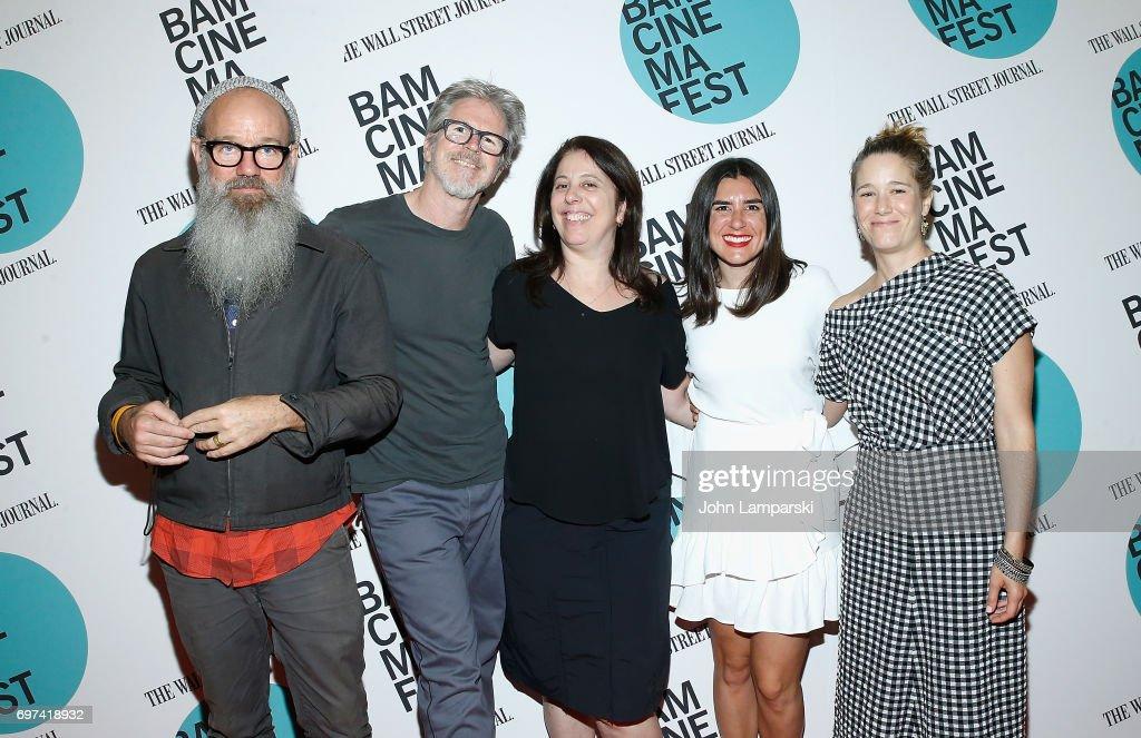 Michael Stipe, Jim McKay, Lindsey Cordero, Alex Bauch and Caroline Kaplan attend 'En El Septimo Dia' centerpiece screening during BAMcinemaFest 2017 at BAM Harvey Theater on June 18, 2017 in New York City.