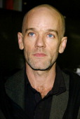 Michael Stipe of REM during 'Singing Detective' Screening and Release at Everyman Cinema in Hampstead London United Kingdom