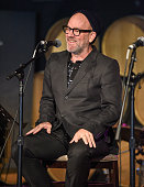 Michael Stipe performs at the Everest Awakening A Prayer For Nepal And Beyond at City Winery on May 17 2015 in New York City