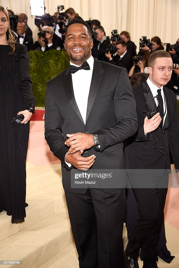 Michael Strahan attends 'Manus x Machina: Fashion In An Age Of Technology' Costume Institute Gala at Metropolitan Museum of Art on May 2, 2016 in New York City.