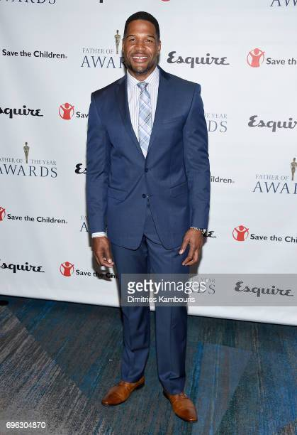 Michael Strahan attends The 76th Annual Father Of The Year Awards at New York Hilton on June 15 2017 in New York City
