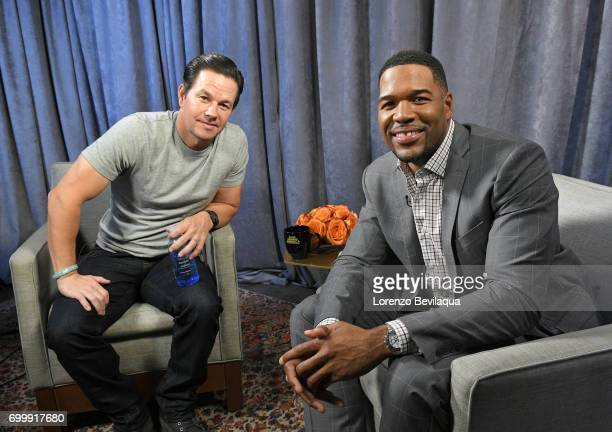 AMERICA Michael Strahan interviews Mark Wahlberg on 'Good Morning America' Tuesday June 20 2017 airing on the ABC Television Network MARK