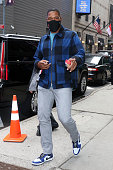Celebrity Sightings In New York City - April 29, 2021