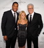 Michael Strahan Kelly Ripa and Ted Danson attend the 2012 GQ Gentlemen's Ball presented by LG Movado and Nautica on October 24 2012 in New York City