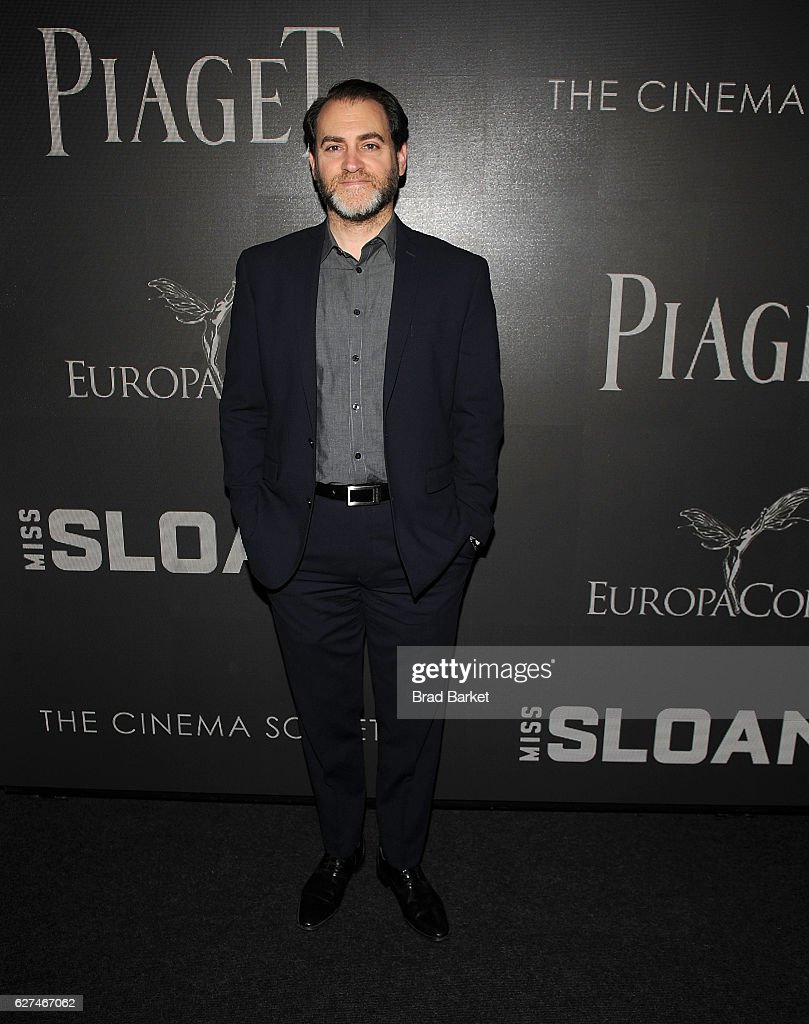 Michael Stuhlbarg attends The Cinema Society with Piaget host a Screening of EuropaCorp's 'Miss Sloane' at SAG-AFTRA Foundation Robin Williams Center on December 3, 2016 in New York City.