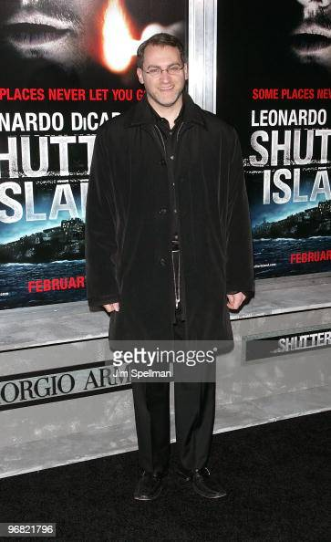 Michael Stuhlbarg attends the 'Shutter Island' premiere at the Ziegfeld Theatre on February 17 2010 in New York City