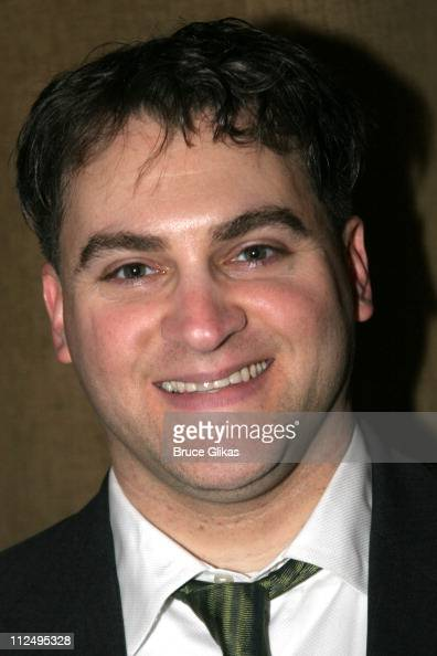 Michael Stuhlbarg during Opening Night of Martin McDonagh's 'The Pillowman' on Broadway Curtain Call and After Party at Osteria Stella in New York...