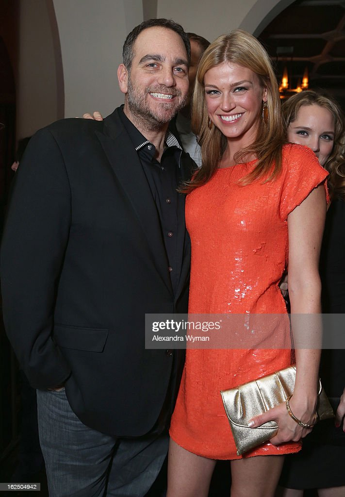 Michael Sugar (L) and actress <a gi-track='captionPersonalityLinkClicked' href=/galleries/search?phrase=Adrianne+Palicki&family=editorial&specificpeople=632846 ng-click='$event.stopPropagation()'>Adrianne Palicki</a> attend GREY GOOSE Pre-Oscar Party hosted by Michael Sugar, Doug Wald, Nathan Kahane and Warren Zavala at Chateau Marmont on February 23, 2013 in Los Angeles, California.