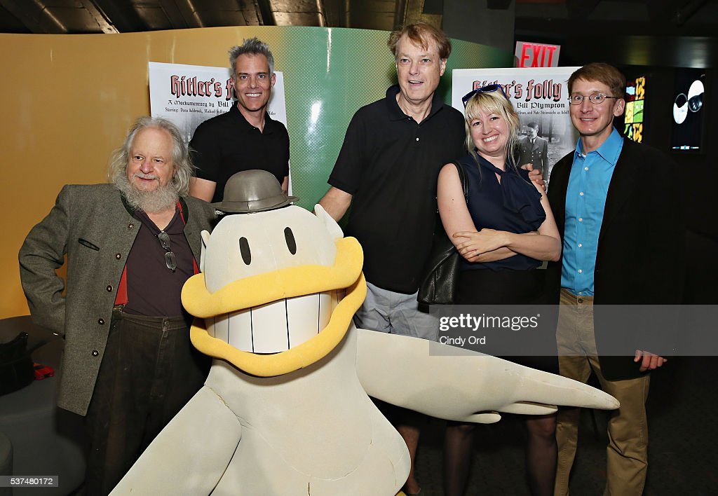 Michael Sullivan, Dana Ashbrook, Bill Plympton, Eden S. Bales, Nate Steinwachs and Downy Duck attend the 'Hitler's Folly' New York Premiere at SVA Theatre on June 1, 2016 in New York City.