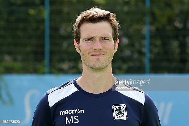 Michael Sulzmann poses during the official team presentation of TSV 1860 Muenchen at Trainingsgelaende on July 22 2016 in Munich Germany