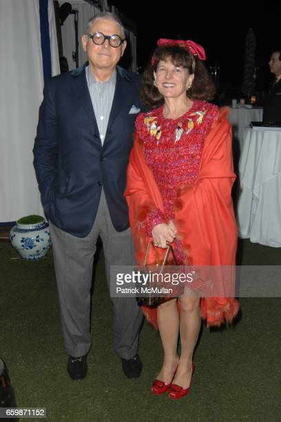 Michael Tannenbaum and Suzanne Tannenbaum attend Lorenz Baumer Private Dinner in Celebration of his Paris Fine Jewelry Collection at The London West...