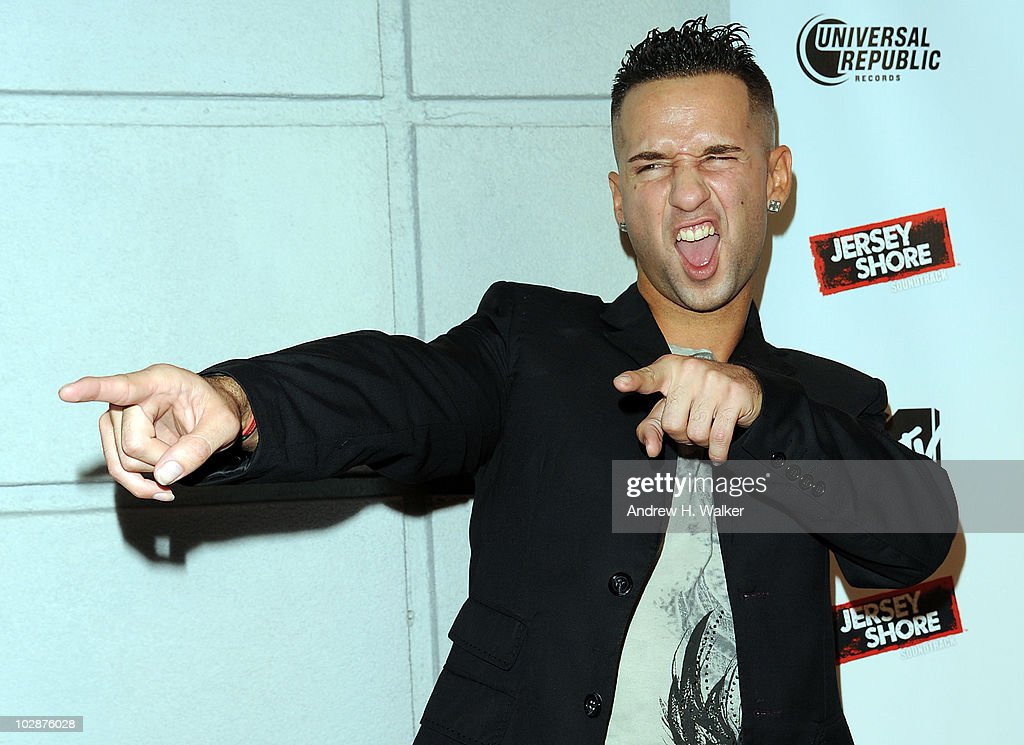 Michael 'The Situation' Sorrentino attends the 'Jersey Shore' album release party at Marquee on July 13 2010 in New York City