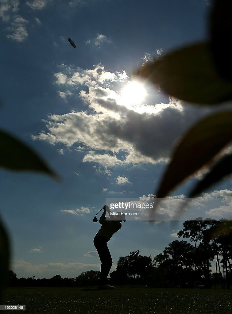 Michael Thompson hits his tee shot on the 11th hole during the final round of the Honda Classic at PGA National Resort and Spa on March 3, 2013 in Palm Beach Gardens, Florida.