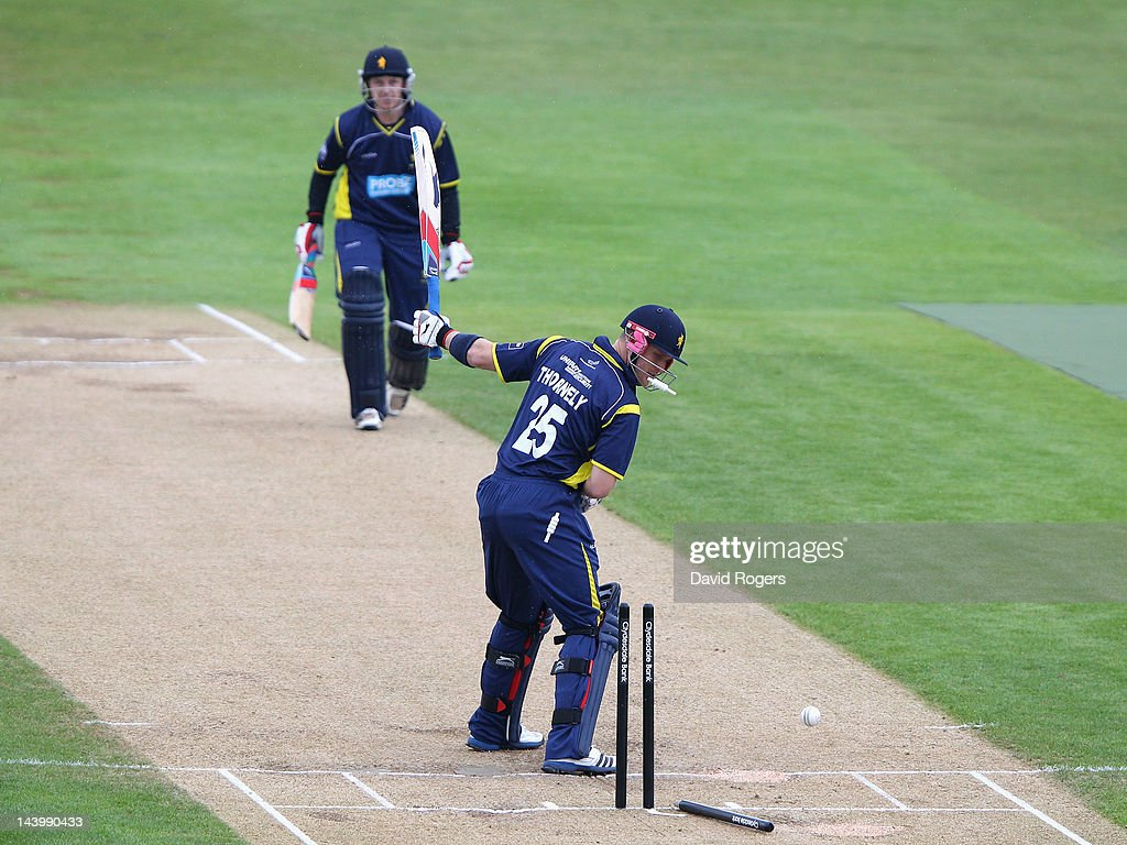 Northamptonshire v Unicorns - Clydesdale Bank Pro40